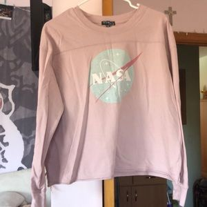 Pink nasa shirt